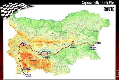 rally2009route